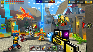 Pixel Gun 3D Mod v17.5.3 Apk – Unlimited Gold + OBB Data 2020 3