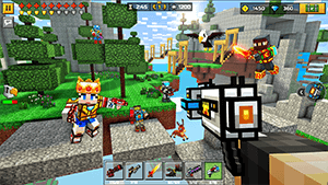 Pixel Gun 3D Mod v17.5.3 Apk – Unlimited Gold + OBB Data 2020 2