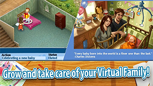 Virtual Families 2 MOD APK – Unlimited Gold Free 6
