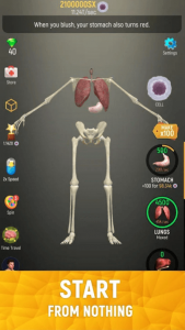 Idle Human Mod APK download (Diamond/Cell/Unlocked) Unlimited 3